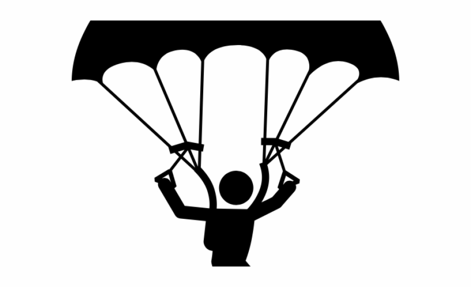 Skydiving Clipart Clip Art , Png Download.