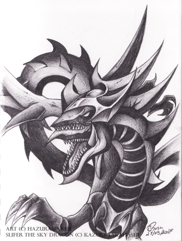 Slifer The Sky Dragon Clipart.
