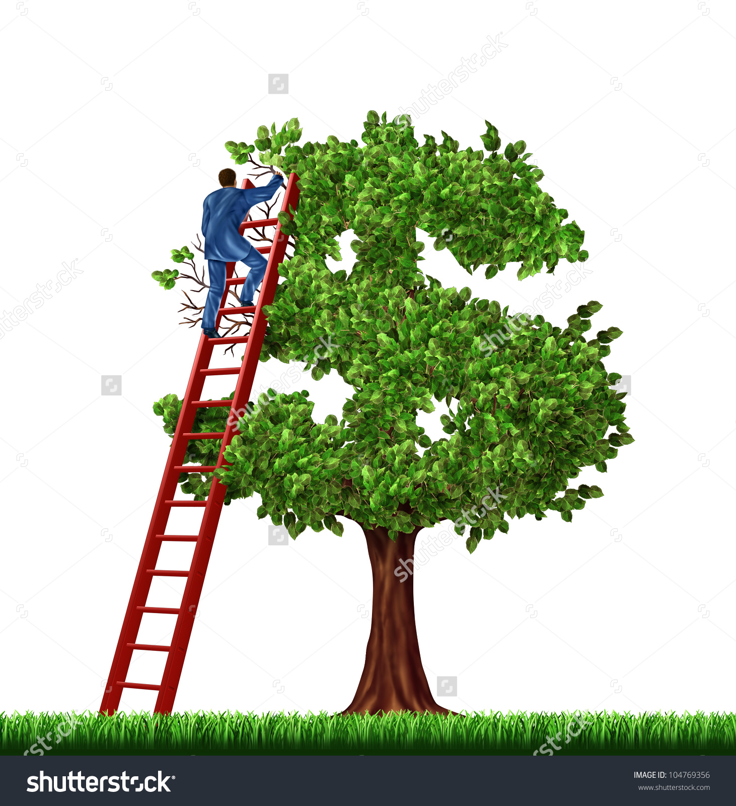 Wealth Management Financial Advice Businessman On Stock.
