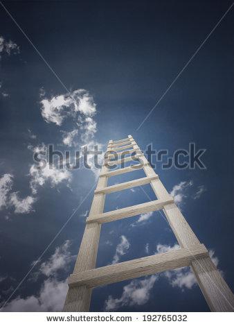 Ladder Sky Stock Photos, Royalty.