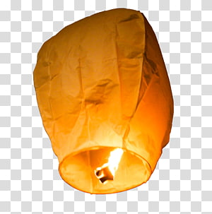 Sky lantern transparent background PNG cliparts free.