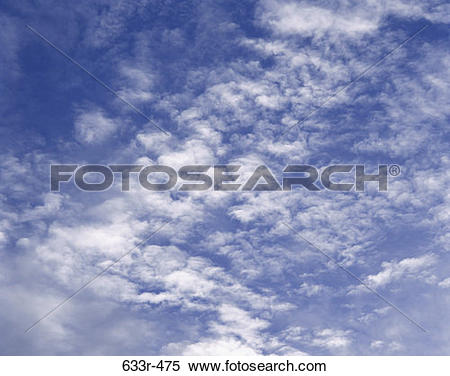 Stock Image of sky, light, clouds, cloudy, nature 633r.