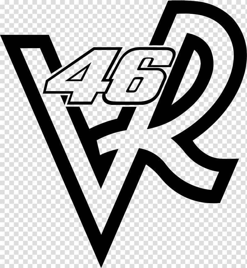 46 VR logo, T.