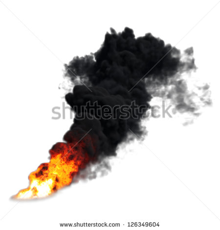 Smoke Fire Clipart.