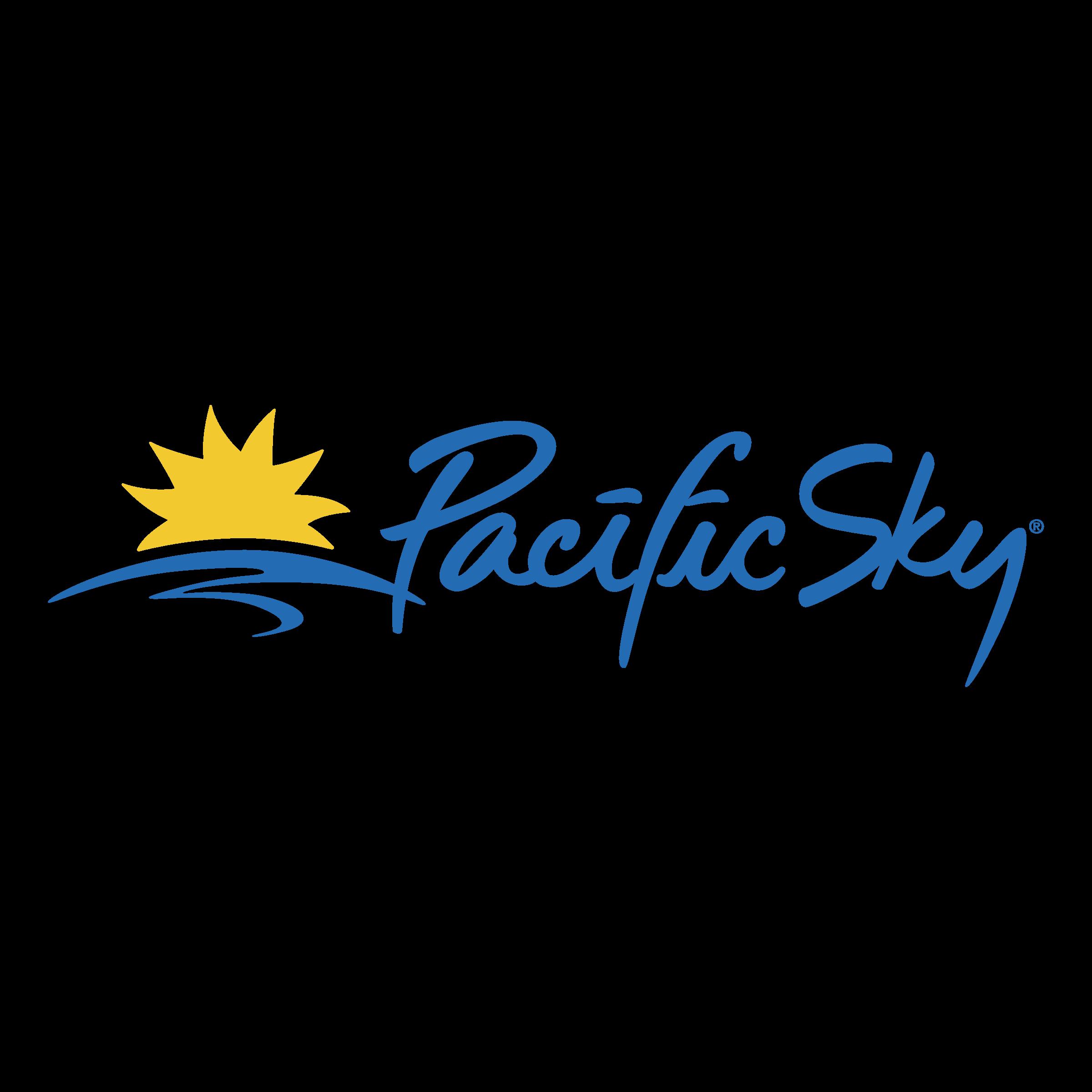Pacific Sky Logo PNG Transparent & SVG Vector.