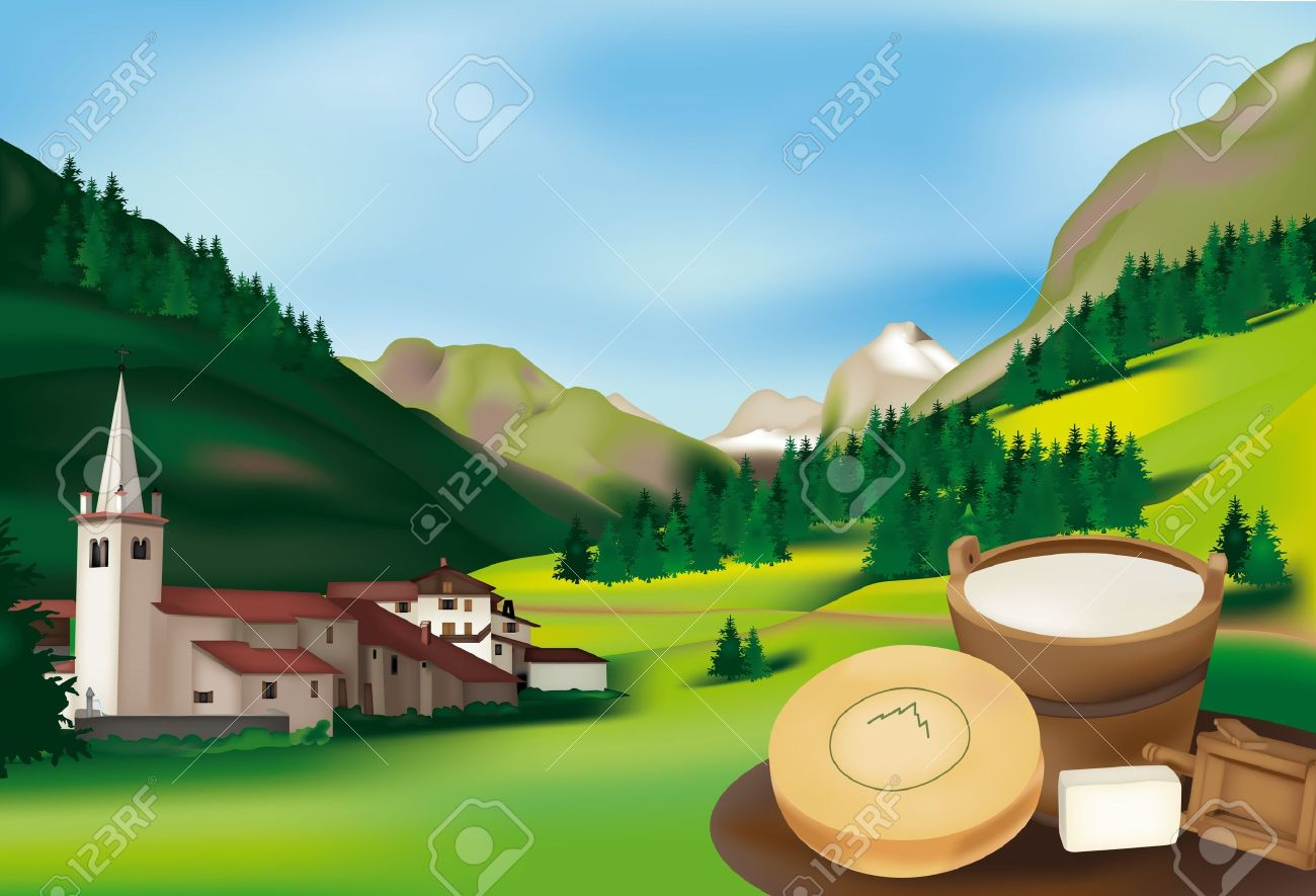 1,240 Alpine Region Stock Illustrations, Cliparts And Royalty Free.