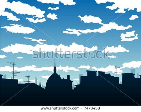 Roof Sky Stock Vectors & Vector Clip Art.