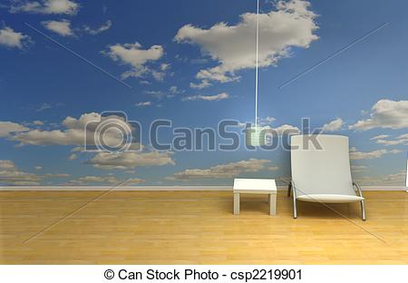 Clipart of sky room.