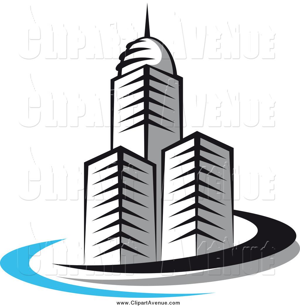 Skyscraper Clip Art.
