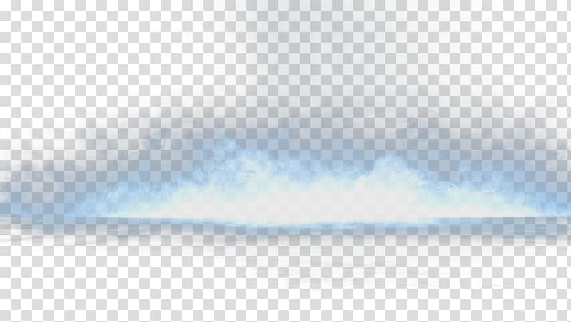 Blue Sky Daytime Pattern, Contiguous white smoke transparent.