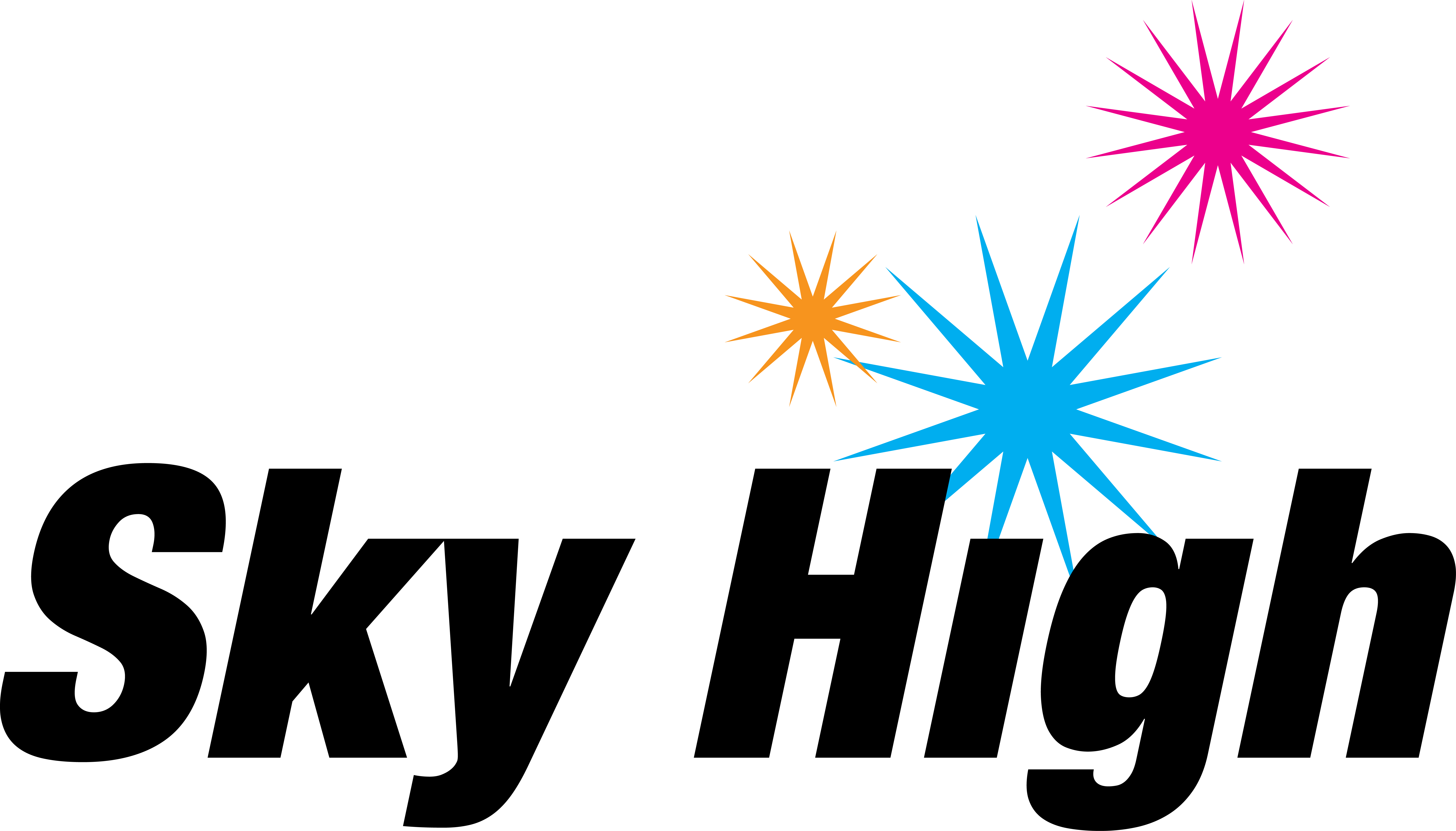 Sky High Sports Logo Clipart.