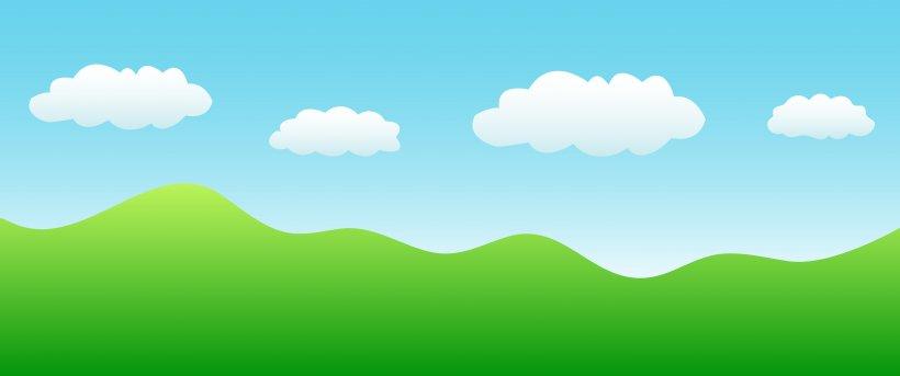 Green Grassland Sky Ecoregion Wallpaper, PNG, 5955x2495px.