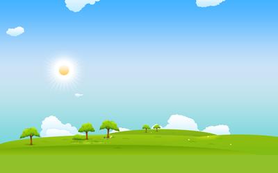 Sunny Sky wallpaper.