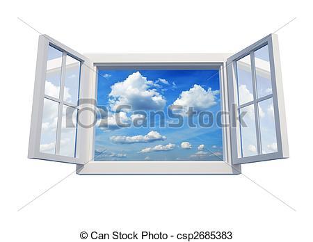 Drawings of Window to sky.