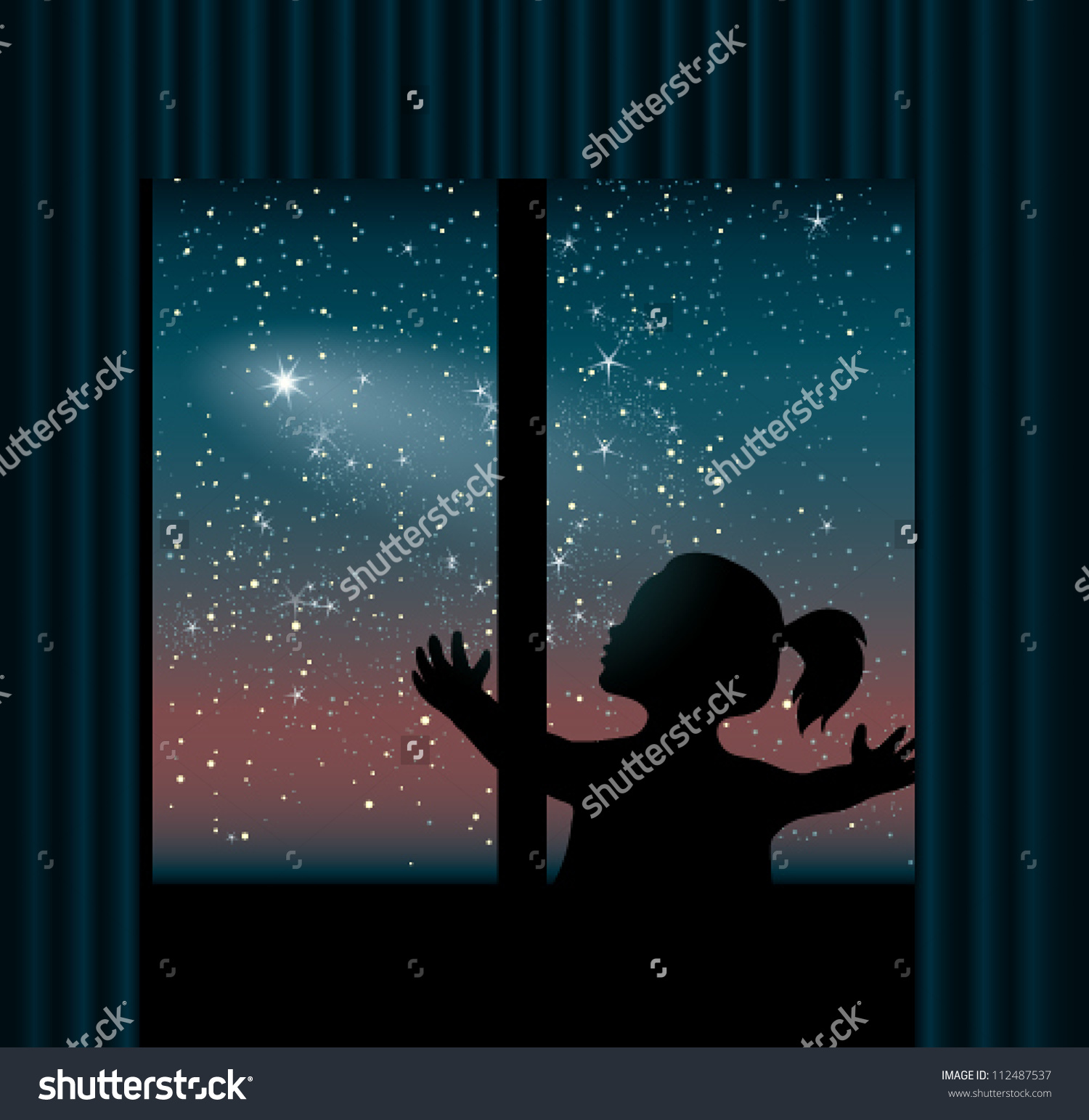 People looking to sky clipart.