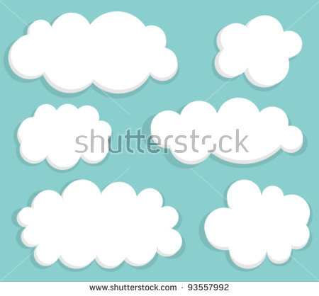 Soft Clouds Stock Vectors & Vector Clip Art.