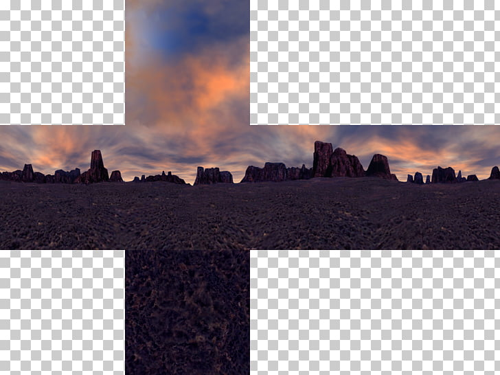 Skybox Texture mapping Minecraft Obsidian Dusk, aestheticism.