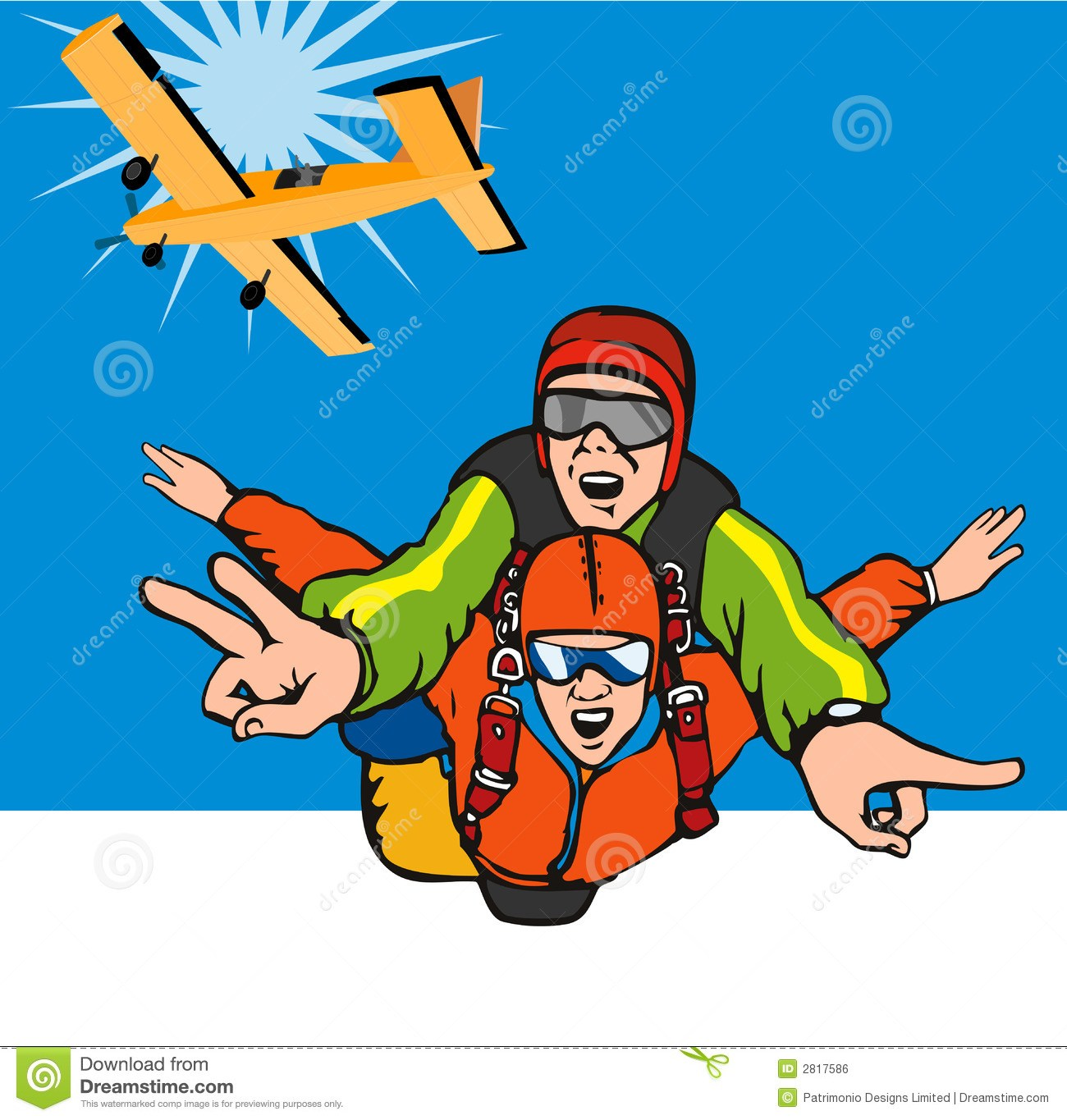 Free skydiving clipart 7 » Clipart Portal.