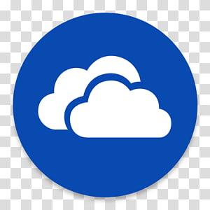 Blue symbol brand smile , App Skydrive transparent.