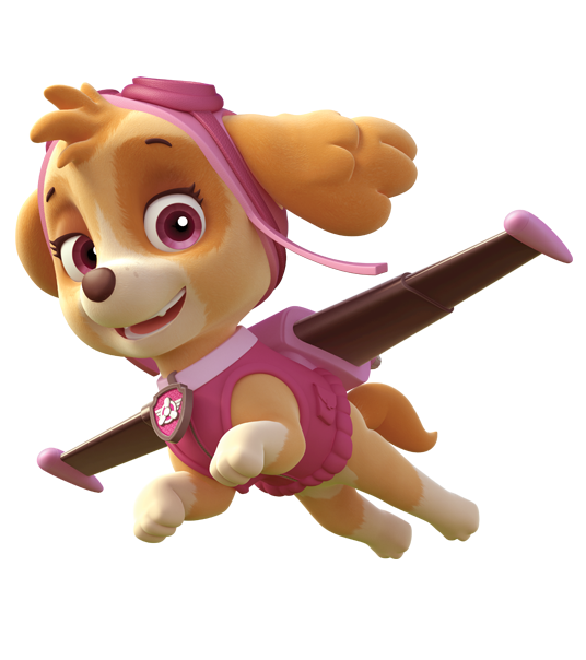 Skye Paw Patrol Png Vector, Clipart, PSD.