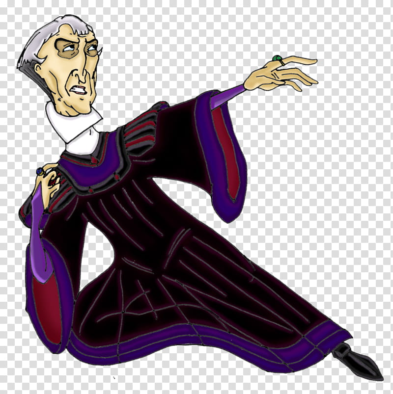 Frollo Skyfall transparent background PNG clipart.