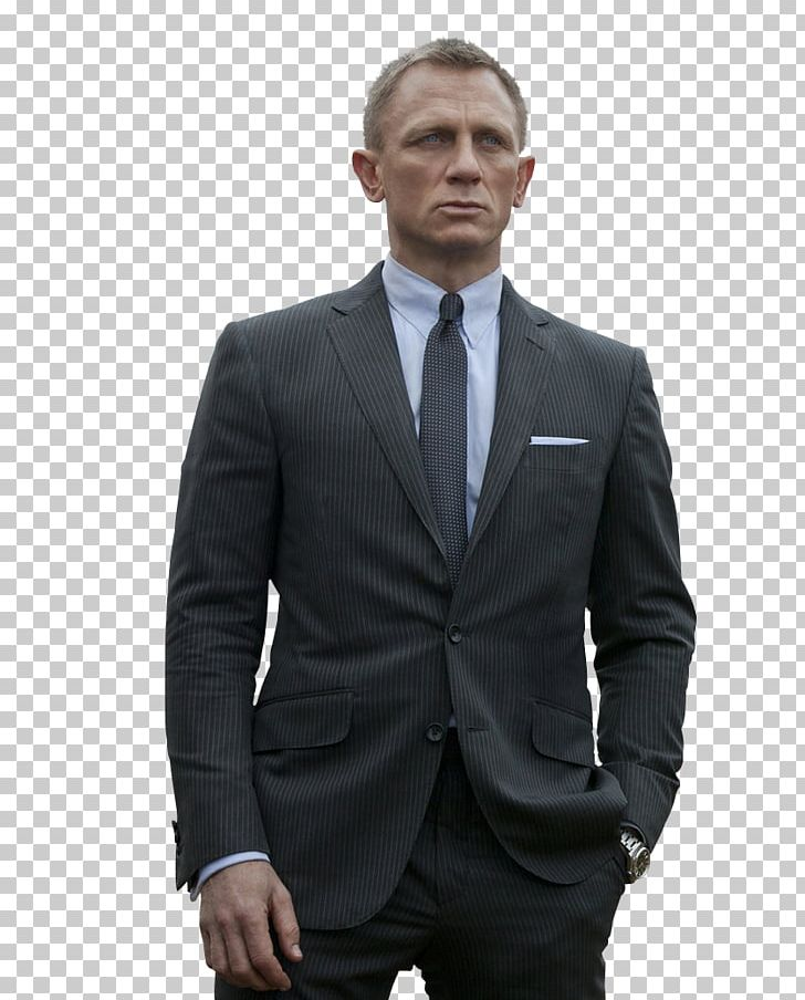 Daniel Craig James Bond Film Series Skyfall Suit PNG.