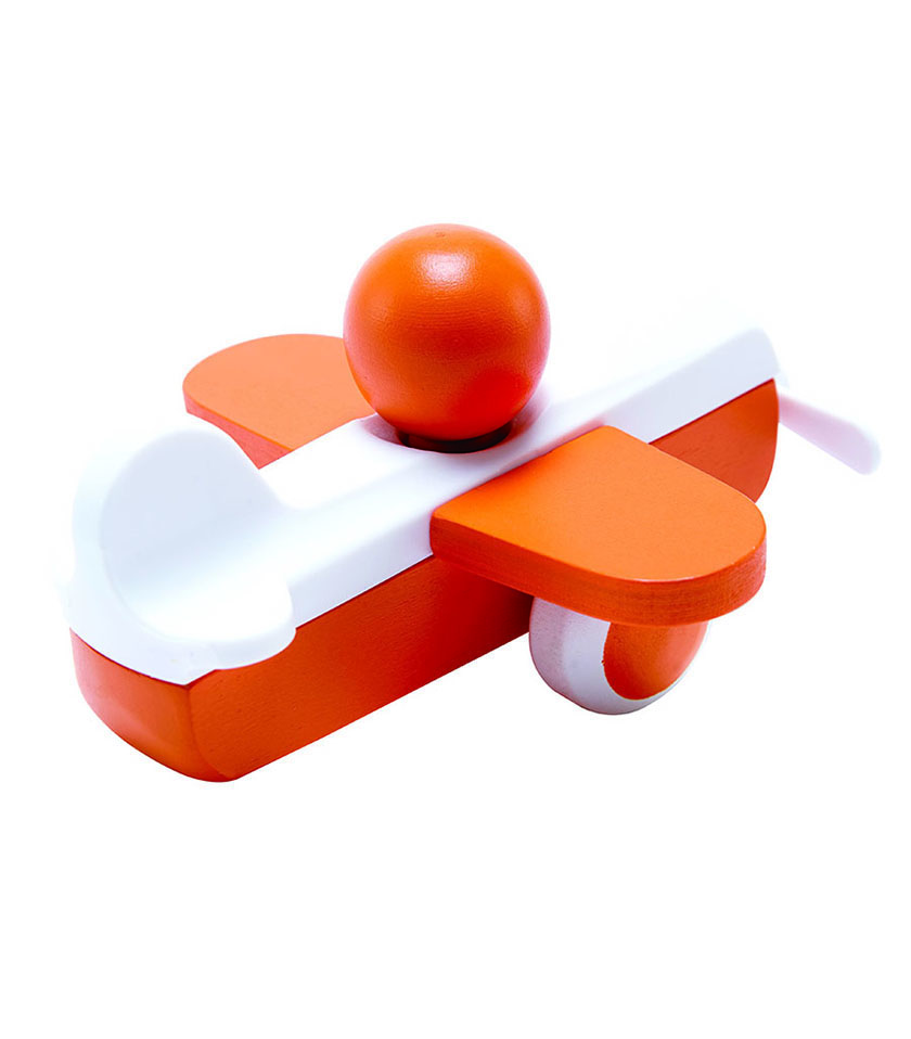 Sky Flyer Orange From Hape from The Wooden Toybox.