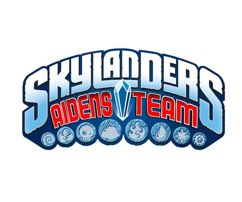 Customize Skylanders Trap Team Logo Tutorial.