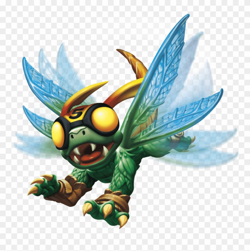 Download Skylanders Insect Transparent Png Clipart (#3128424.