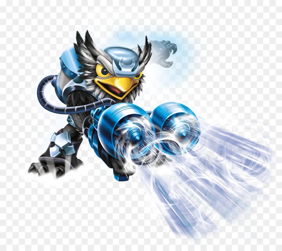 Skylanders Swap Force Figurine png download.