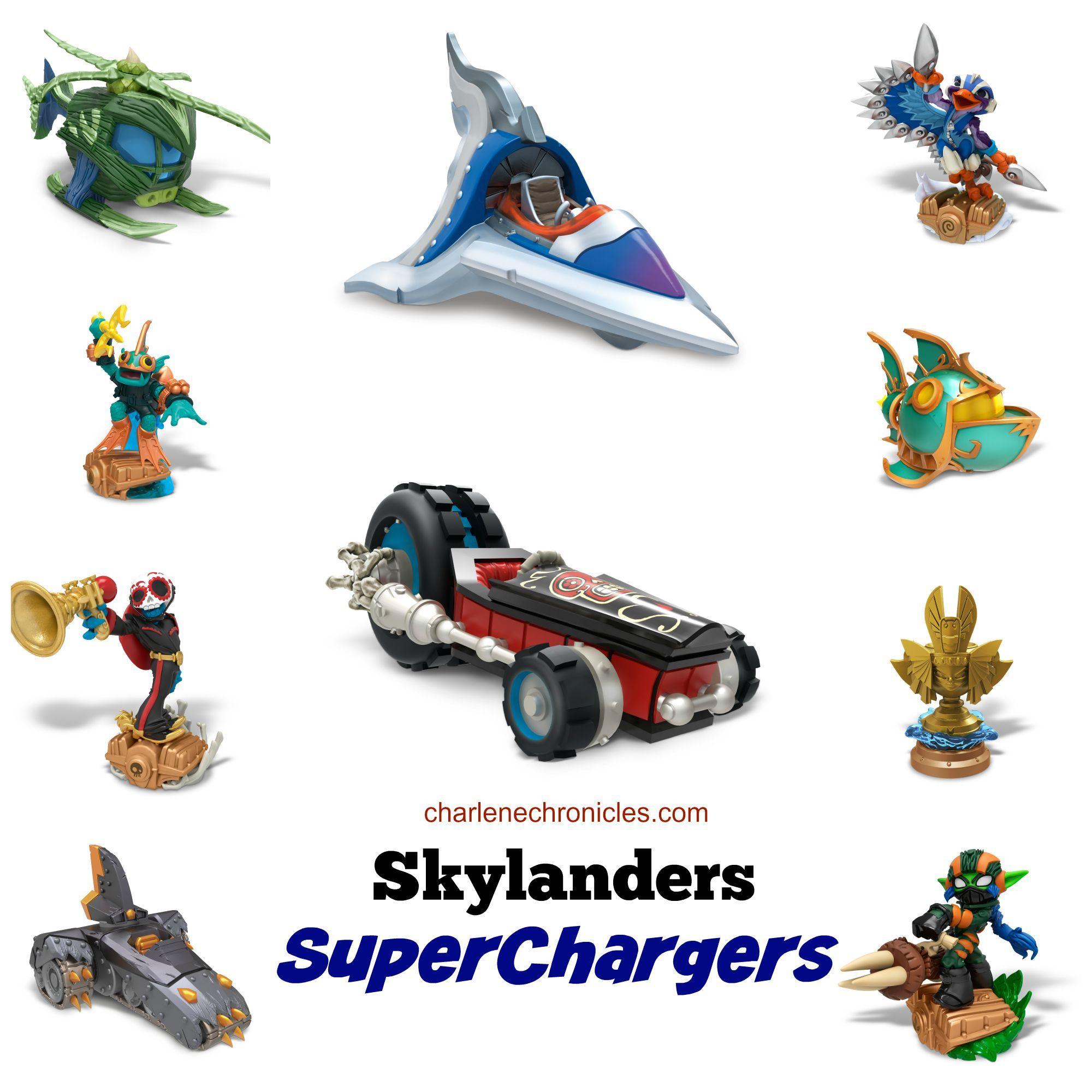 Skylanders SuperChargers Characters!.