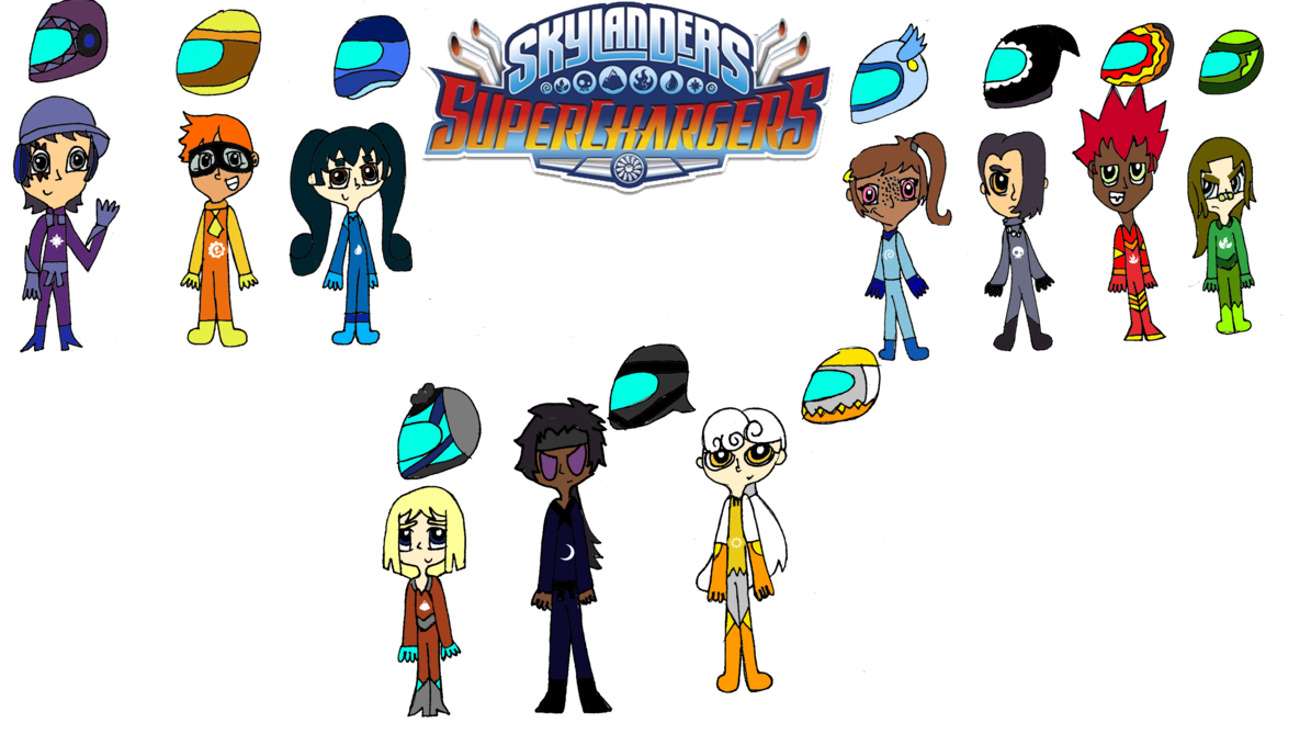 Superchargers portal master by burntuakrisp on DeviantArt.