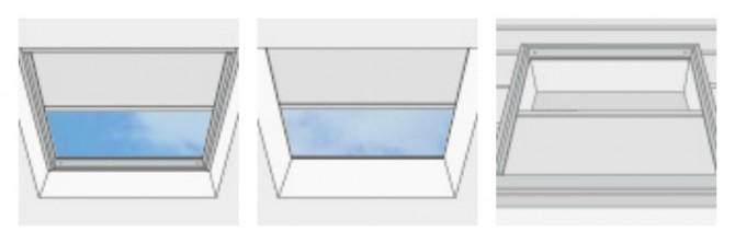 Skylights Window Treatments.