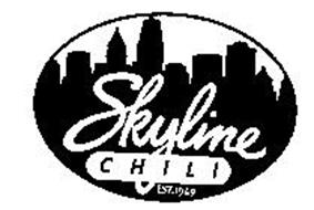 SKYLINE CHILI EST.1949 Trademark of SKYLINE CHILI, INC.