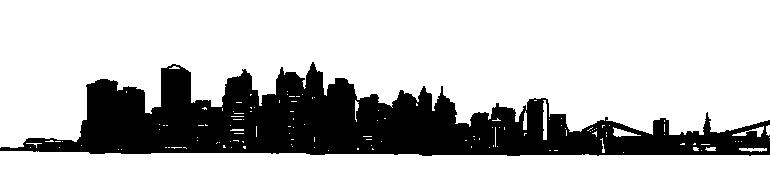 New York City PNG Skyline Transparent New York City Skyline.