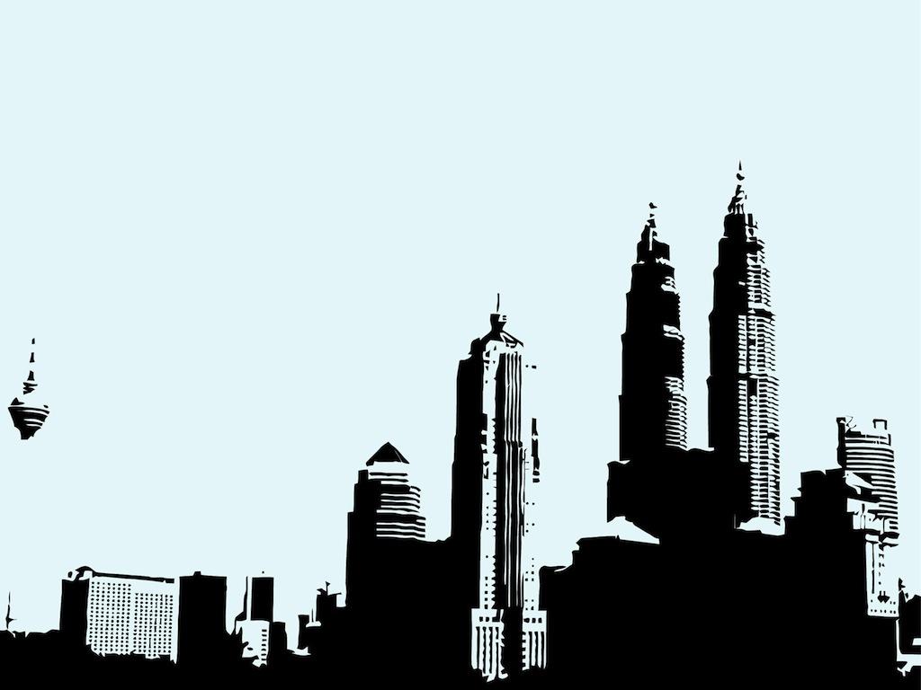 Skyline Vector.