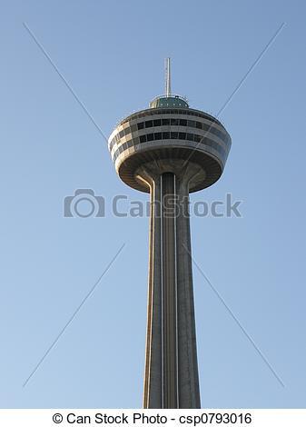 Stock Image of Skylon Tower at Niagara Falls csp0793016.