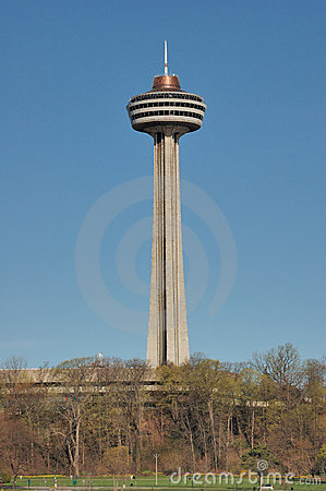 Skylon Tower Niagara Falls Royalty Free Stock Images.