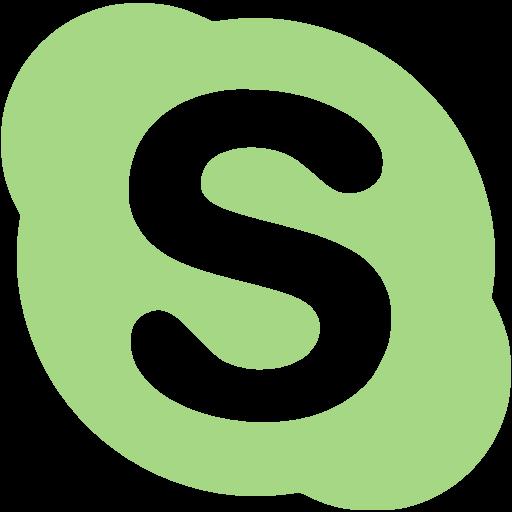 Guacamole green skype icon.
