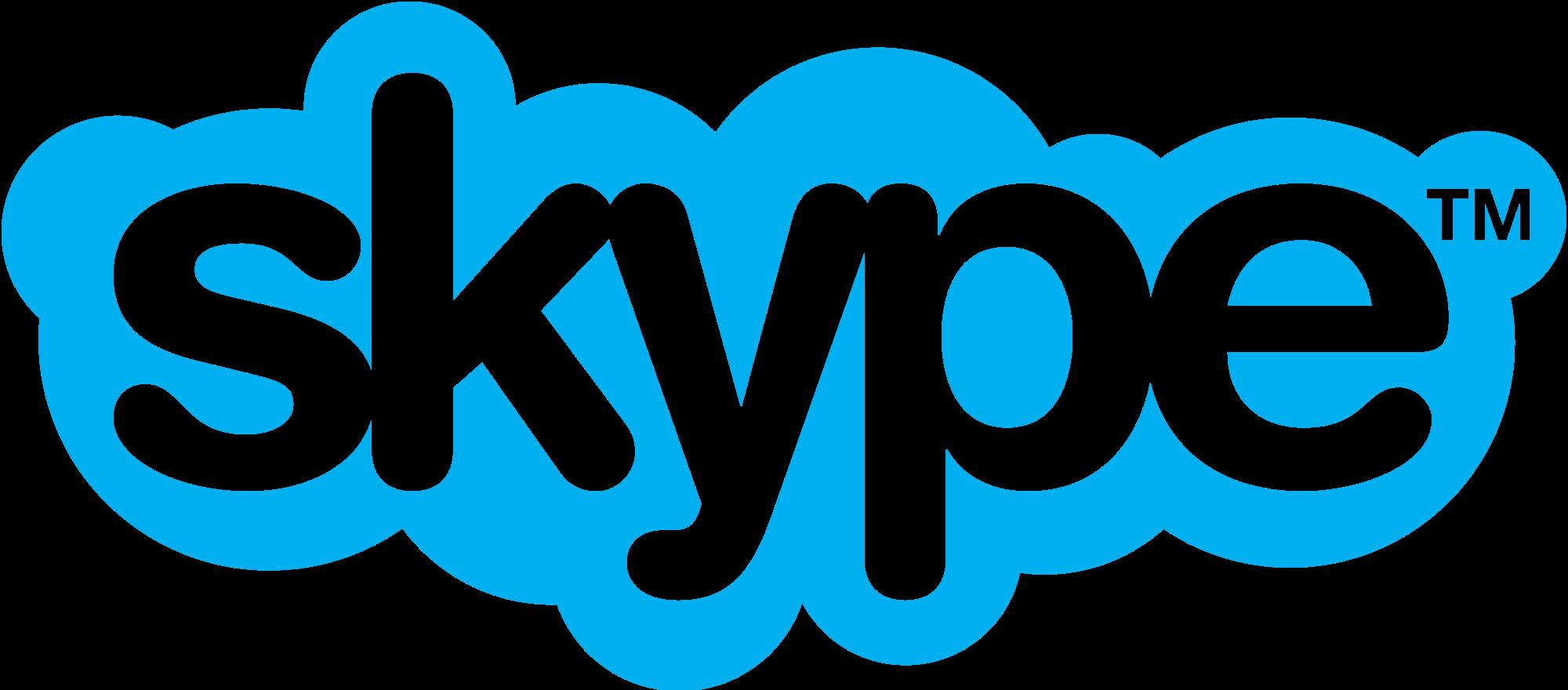 Skype Logo transparent PNG.