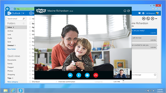 Skype sees 3D video calling in its future.