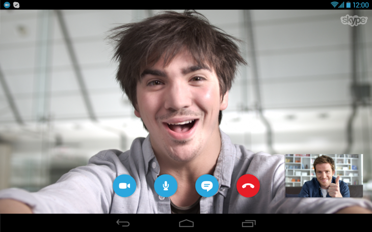 Skype for Android Lets You Multitask During Video Calls.