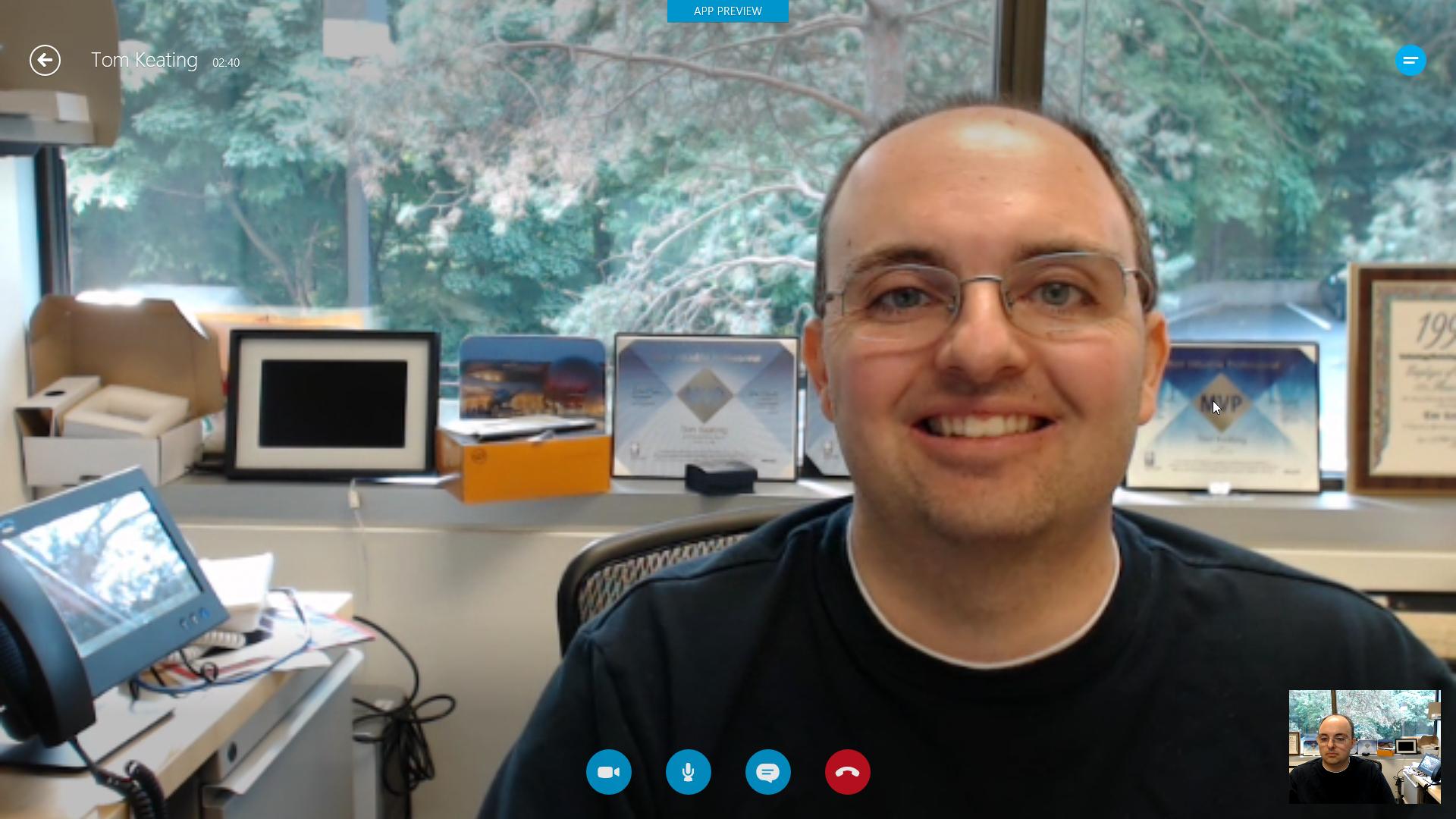 Skype for Windows 8 Metro / Modern UI How.