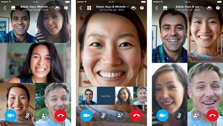 Skype launches group video calling for up to 25 people on.