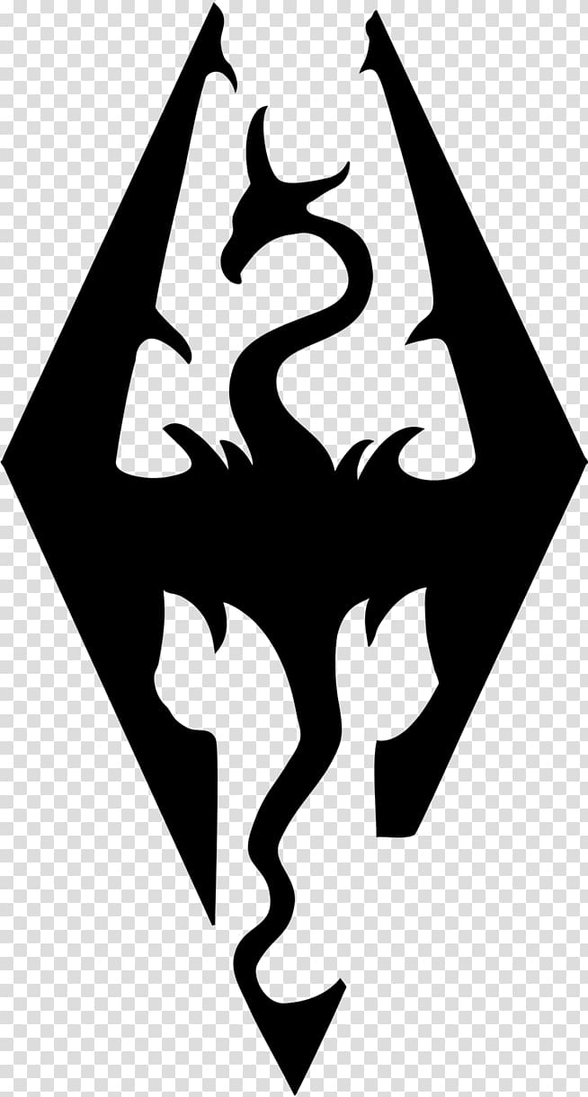 The Elder Scrolls V: Skyrim Decal Logo Sticker Video game.