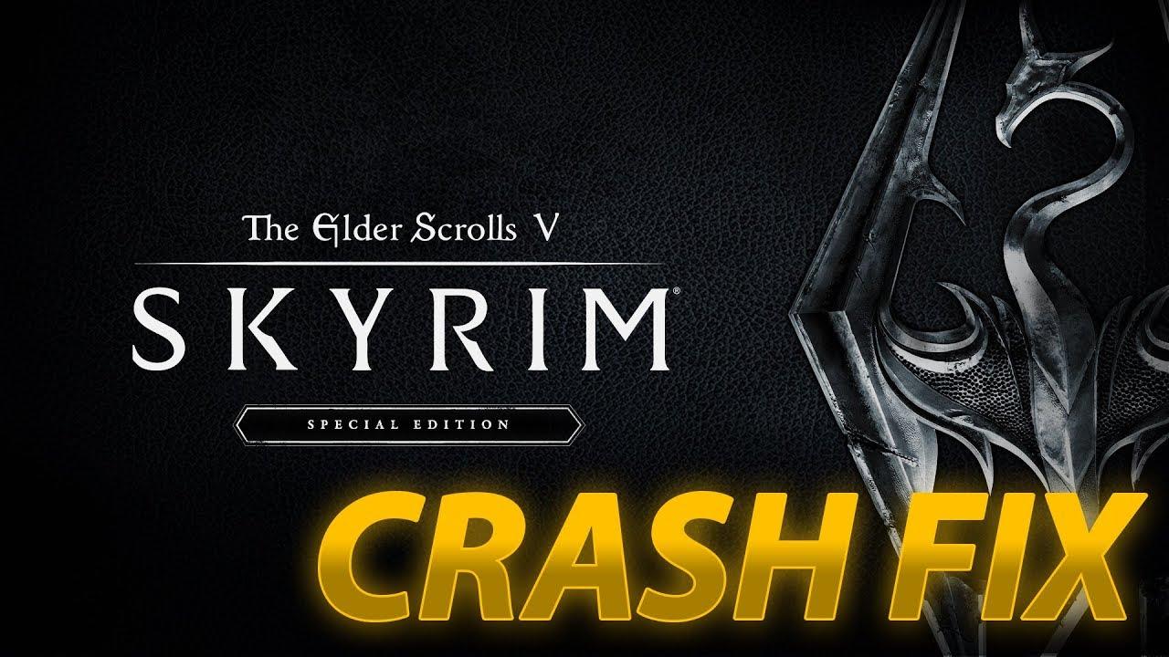 Skyrim: Special Edition & Fallout 4 (Startup Crash) Fix!.