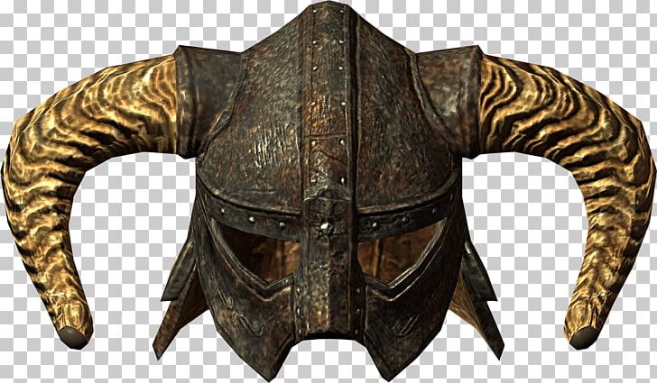Iron Helmet, Elder Scrolls: Skyrim helmet PNG clipart.