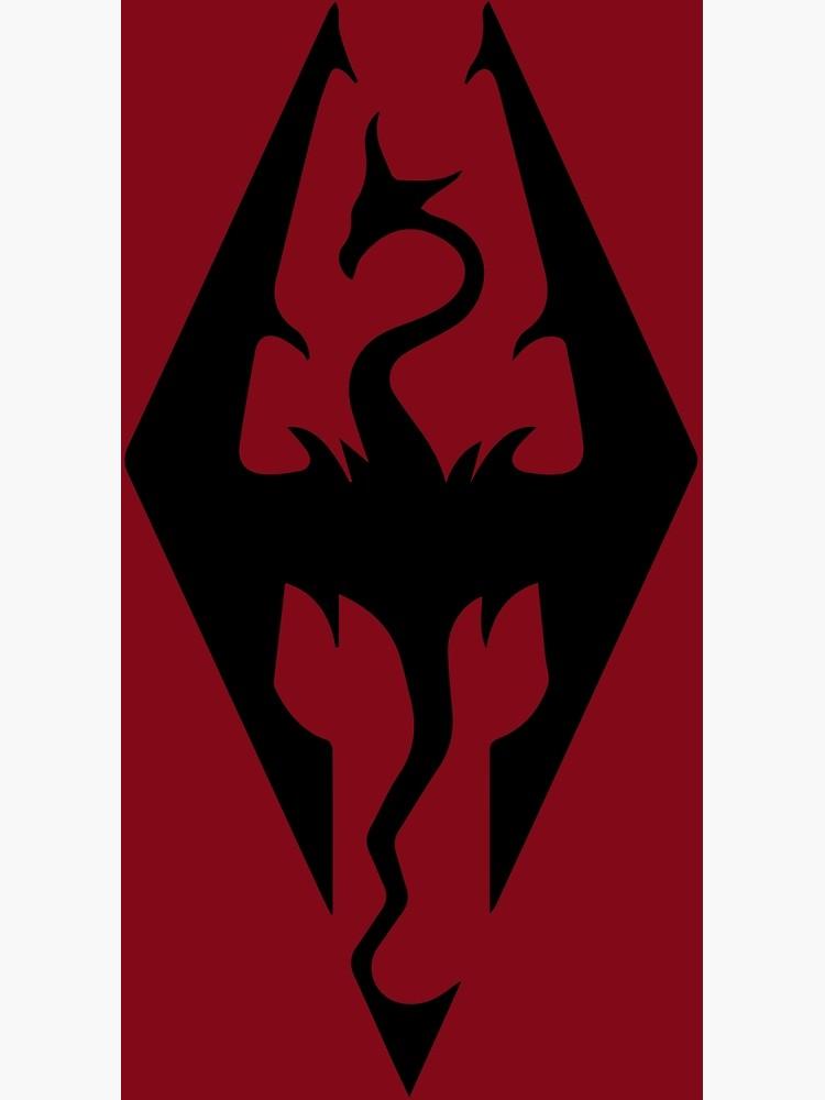 Skyrim Imperial Flag Logo.