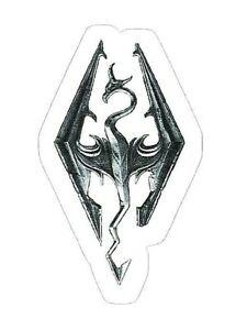 Details about SKYRIM STICKER ~ Imperial Legion Elder Scrolls Dragon Logo  Video Game 3.75\