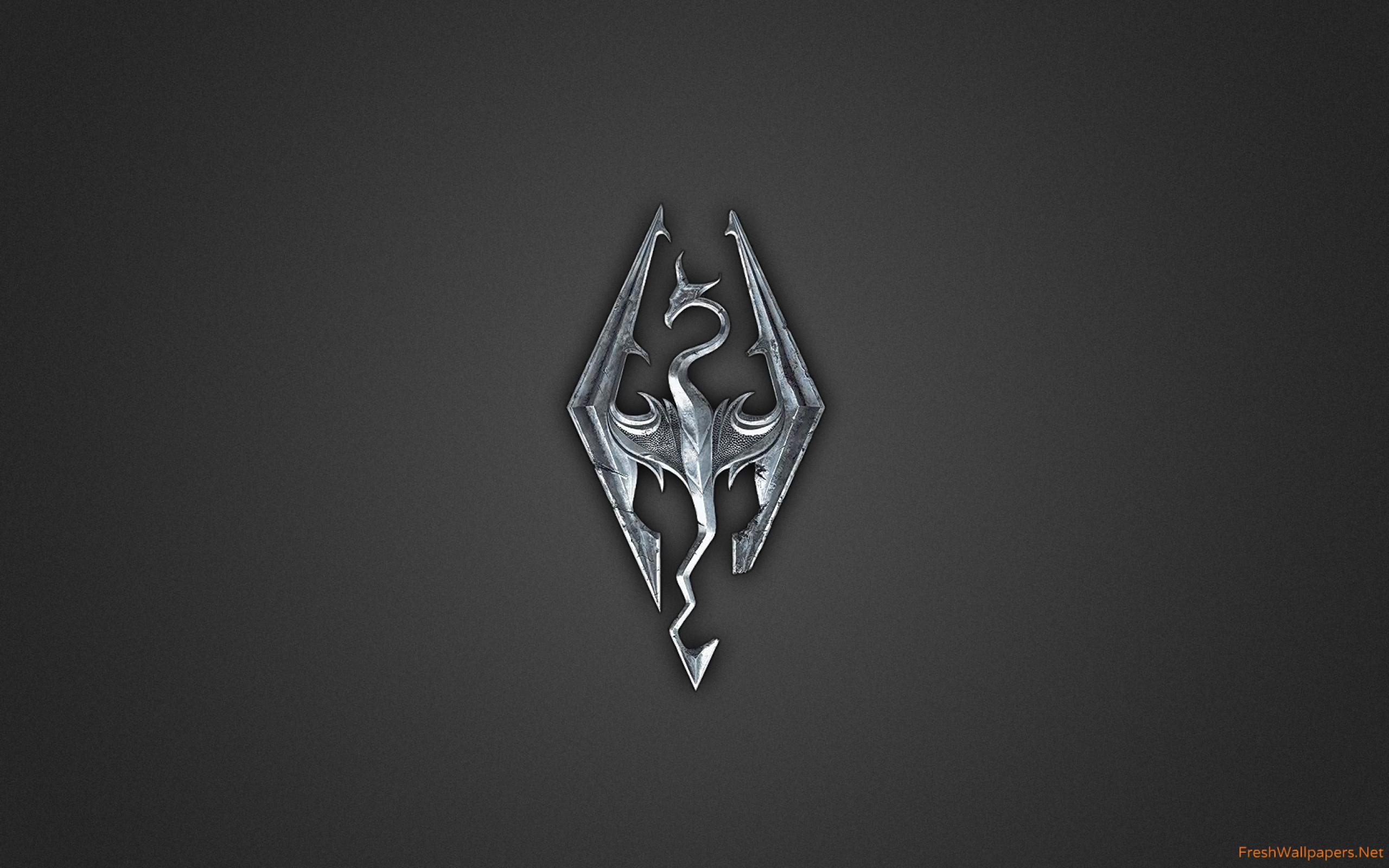 Skyrim Logo wallpapers.